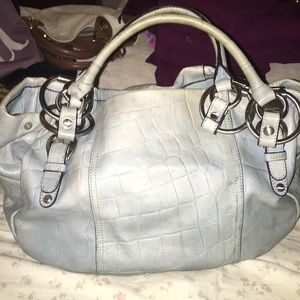 B Makowsky Leather handbag
